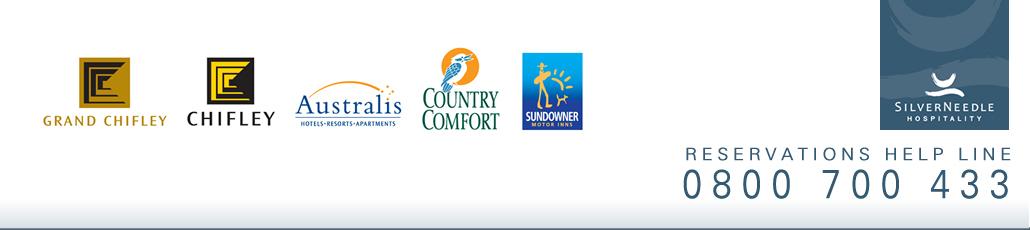 Standard silverneedle hotel accommodation banner new zealand